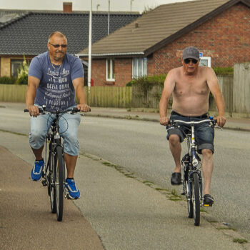 På cykel genom Danmark