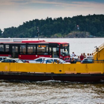 Transporter - Sjöbuss